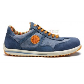 DIKE SAFETY SHOES LOW RAVING RACY S1P SRC JEANS VELOR-CANVAS