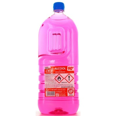 ALCOOL DENATURATO 2000 CC.SAI 90 GRADI