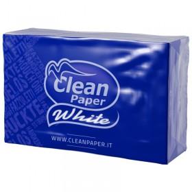 CLEAN PAPER WHITE FAZZ.9x6 PACCH.4 VELI