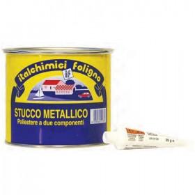 ITALCHIMICI STUCCO METALLICO GRIGIO CON CATALIZZATORE ML. 750