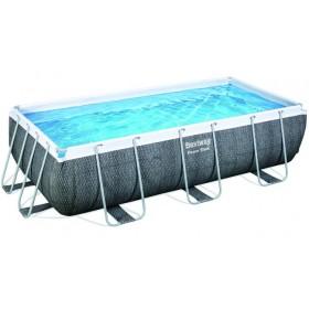 Bestway 56721 piscina con telaio Power Steel Rattan cm.
