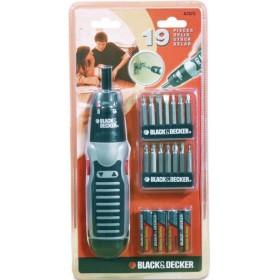 BLACK DECKER SVITAVVITA KIT 19PZ. A7073XJ