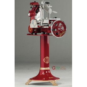 MANUAL SLICER BERKEL FLYWHEEL TRIBUTE VLTRIB RED WITH PEDESTAL