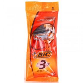 BIC RASOIO SENSITIVE 3 LAME USA&G. 4 PZ
