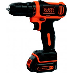 BLACK DECKER BATTERY DRILL 10,8V LITHIUM MOD. BDCDD12K