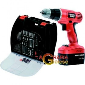 BLACK DECKER BATTERY DRILL 14.4 VOLT MOD EPC14100K