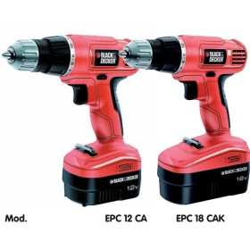 BLACK DECKER BATTERY DRILL 18V MOD.EPC18CAK