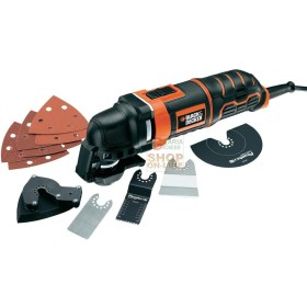 BLACK DECKER UTRENSILE MULTIFUNZIONE MT300KA WATT. 300