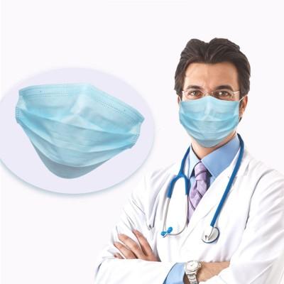 10 MASCHERINE HOSPITAL MEDICAL PRIMA PROTEZIONE STERILIZZATI IN TNT 4 STRATI