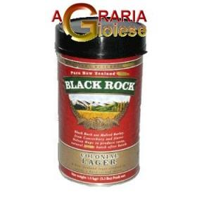 BLACK ROCK MALT FOR COLONIAL LAGER BEER