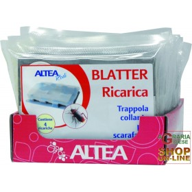 BLATTER REFILL 4 GLUE TRAPS FOR CREEPING INSECTS