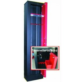 BLINKY 3-SEATER GUN CABINET WITH TESORETT0 31x138x20 28330-05 /