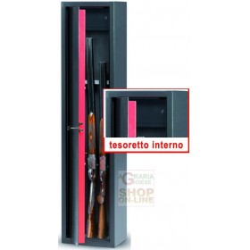BLINKY CABINET FOR GUNS STANDA 5 SEATS WITH TREASURE CM. 31X138X22