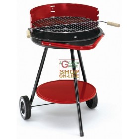 BLINKY CHARCOAL BARBECUE RONDY-48 WITH WHEELS DIAMETER CM. 48