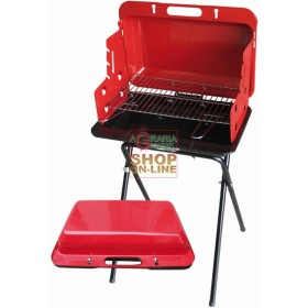 BLINKY CHARCOAL BARBECUE SPEEDY CASE CM. 47X26