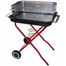BLINKY BARBECUE A CARBONE SUNNY-56 CM. 56X36