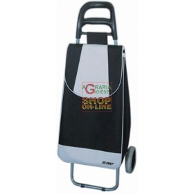 BLINKY BLACK IVORY SHOPPING TROLLEY
