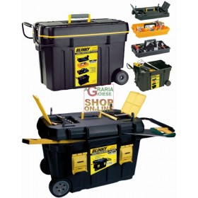 BLINKY TOOL TROLLEY SET 2 IN 1 WITH WHEELS CM. 750X487X49