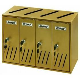 BLINKY POST BOXES ALU BRONZE K-4 SR.4 42X17,5 X30 27358-04 / 7