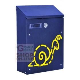 BLINKY BOX FOR LETTERS SUN IN BLACK STEEL CM. 21X8,5X30H