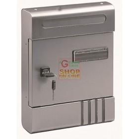 BLINKY Mailbox ALEX SILVER CM. 20X7X29H