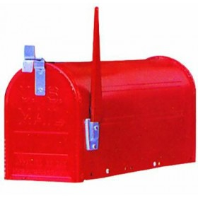 BLINKY AMERICA POSTAL BOX WITHOUT POST BLACK 27292-20 / 4