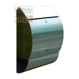BLINKY CASSETTA POSTALE COTTAGE IN ACCIAIO INOX 33X15X49H SENZA PALO 27278-10/9