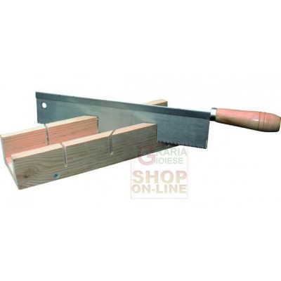 BLINKY FRAME CUTTER BOX WOOD BASE WITH SAW MM. 300