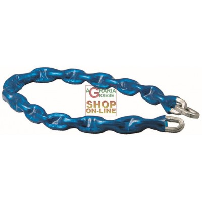 BLINKY ANTI-THEFT CHAIN 10 X 10 WITHOUT PADLOCK MM. 1200
