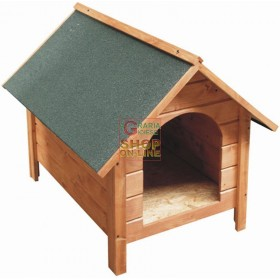 BLINKY WOODEN KENNEL FOR DOGS MOD. GINESTRA SMALL SIZE 58X75X56H.