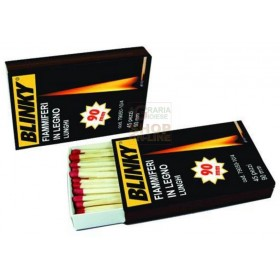 BLINKY EXTRA-LONG WOOD MATCHES PCS. 25 MM. 175