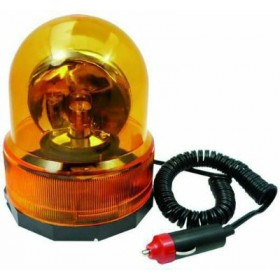 BLINKY ROTATING BEACON WITH MAGNETIC SUPPORT 12 V 34645-10 / 9