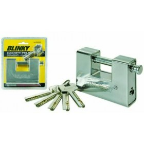 BLINKY PADLOCK FOR ARMORED SHUTTERS CYLINDER EURO MM. 90