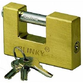 BLINKY ANTI-SCALE PADLOCK FOR HEAVY BRASS SHUTTERS MM. 90