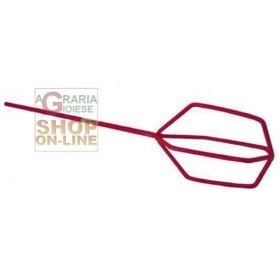 BLINKY MESCOLATORE PER COLLA A FRUSTA IN ACCIAIO CM. 12 X 10 X