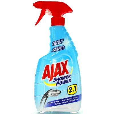 AIAX SHOWER POWER 2IN1 ANTI-LIMESCALE 600 ML