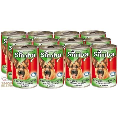 12 BOXES SIMBA DOG KG. 1,230 CALF