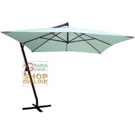 BLINKY BEACH UMBRELLA WHITE SQUARE COVER MT. 3X3