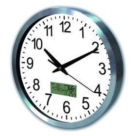 BLINKY ANALOG WALL CLOCK ROUND DIAMETER CM. 25
