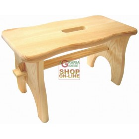 BLINKY BENCH STOOL IN WOOD MOD. LOTUS CM 40X20X22H
