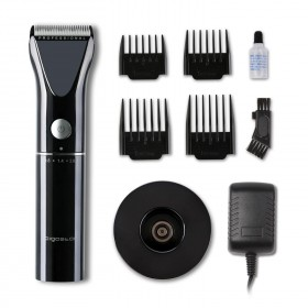 Aigostar Thor 32JVK Hair clipper electric razor 4 professional combs nano ceramic and stainless steel blades