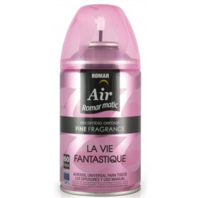 AIR ROMAR MATIC REFILL FRAGRANCE LA VIE FANTASTIQUE ml. 250