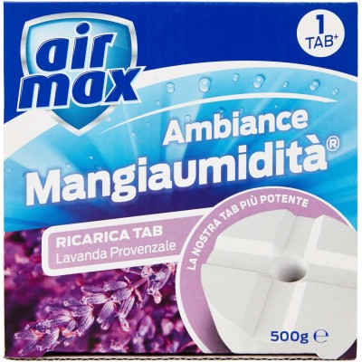 AIRMAX HUMIDITY ABSORBER AMBIANCE RIC.TAB LAVENDER GR. 500