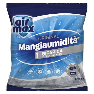 AIRMAX MOISTURIZING NEUTRAL SALTS 1 REFILL GR. 450
