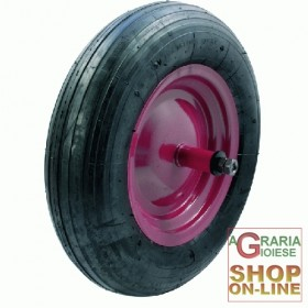 BLINKY WHEEL FOR WHEELBARROW FOAM LONG PIN CM. 21