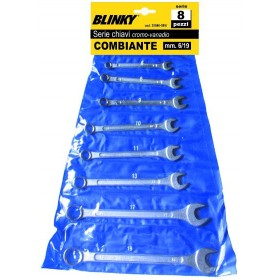 BLINKY COMBINATION WRENCH SERIES PCS. 12 CHROMOVANADIO MM. 6/22