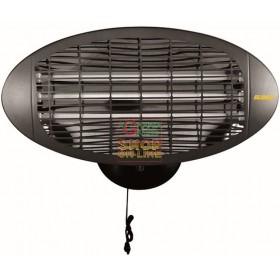 BLINKY QUARTZ STOVE BK-SQ 1500 FOR OUTDOOR WATT 500 x 3