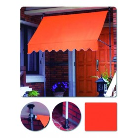 BLINKY SELF-SUPPORTING ORANGE AWNING MT.2,5X1,5