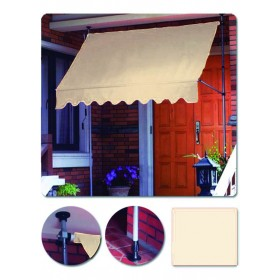 BLINKY SELF-SUPPORTING BEIGE AWNING MT.2,5X1,5