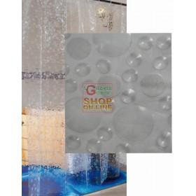BLINKY SHOWER CURTAIN MOD. SOAP 3D MT. 1.8X2.4